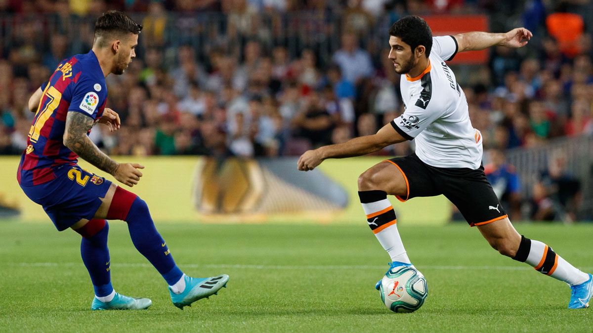 Gonçalo Guedes returned for Valencia after months out on the sidelines