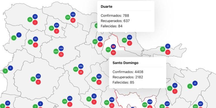 Provincia Duarte no registra muertes por covid-19 desde el 15 de mayo