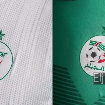 صور قميص المنتخب الجزائري 2019 المخصص لكأس إفريقيا بمصر