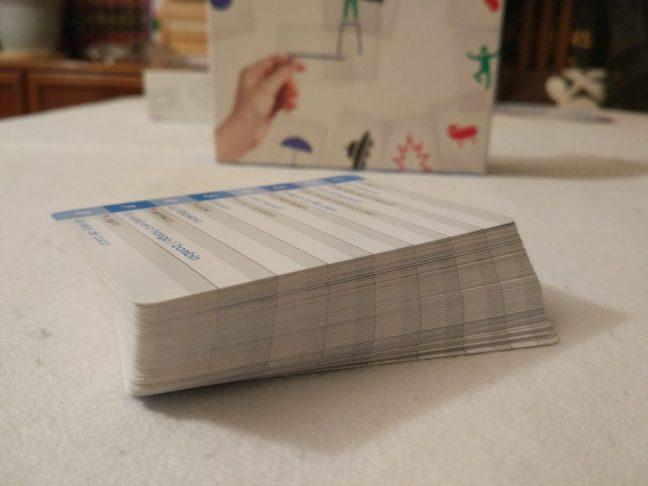 Mazo de tarjetas en Imagine