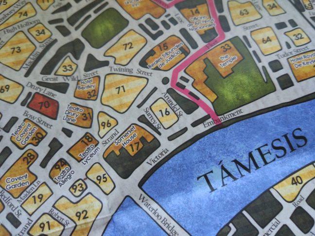 Mapa Sherlock Holmes