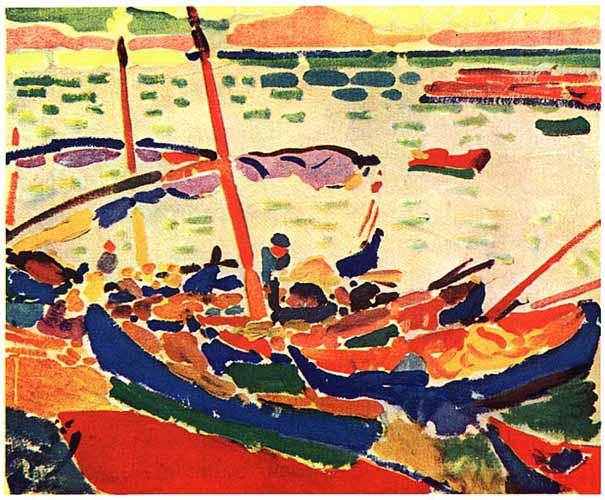 "André Derain, ""Barcos"" (1905)"