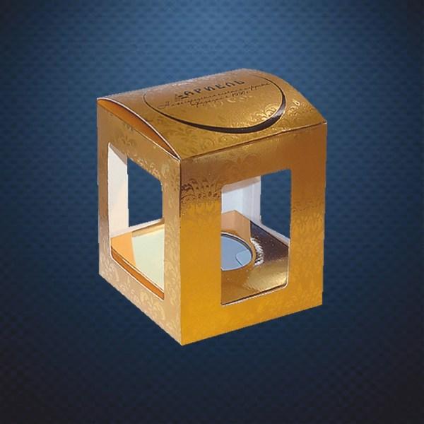 Стеклянная елочная игрушка Тигренок Амурчик 3
