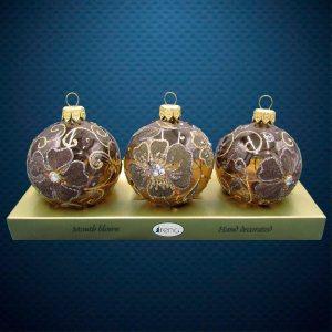 Шар на елку от Ирена Ко Барвинок на коричневом