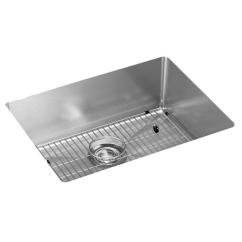 Stainless Steel Undermount Kitchen Sinks Sears Remodel Elkay Crosstown 16 Gauge 23 1 2 X 18