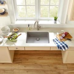 Ada Compliant Kitchen Sink Backsplash Tile Elkay Undermount Sinks  Wow Blog