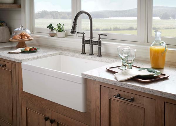elkay kitchen sinks portable pantry fireclay |
