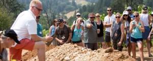viewing soil