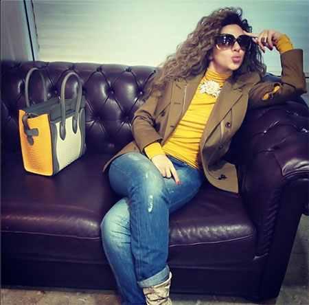 ميريام فارس تصل المغرب