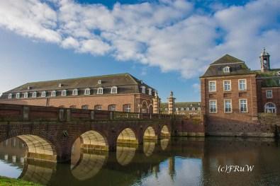 Wunderschöne Steinbrücke Schloss Nordkirchen