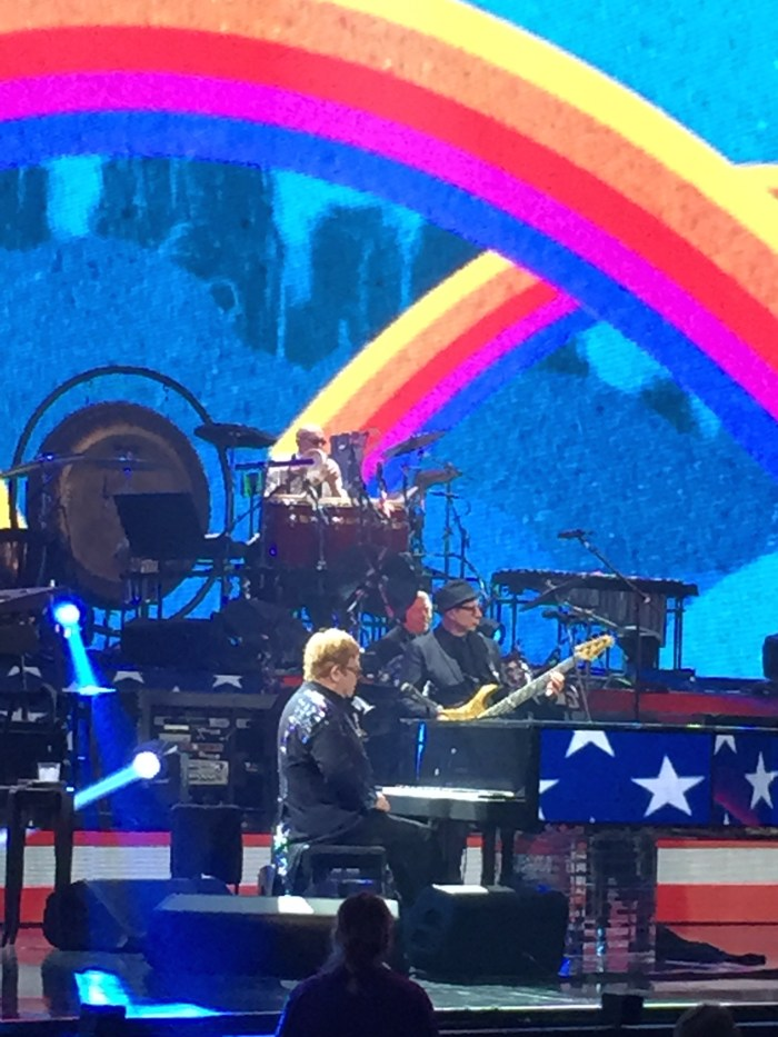 Elton John at Caesar's Palace - January 20, 2015