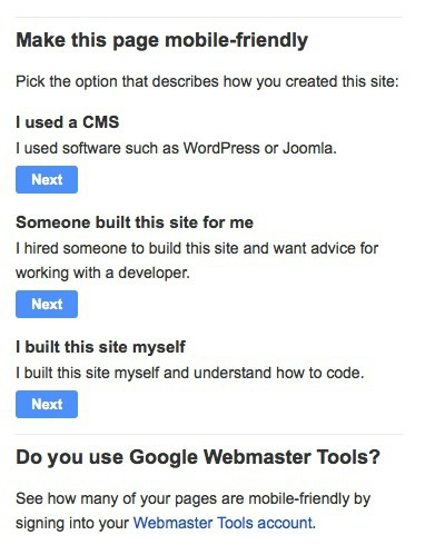 Google Developer Tools To Help Make Your Site Mobile Friendly