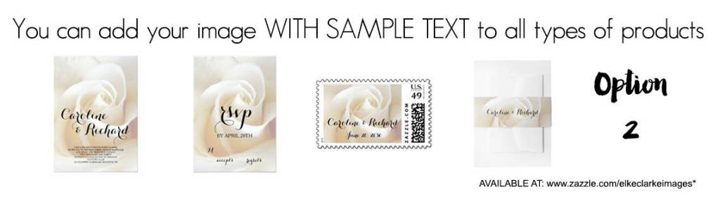 Create Products like a Matching Wedding Invitation Set to Sell Your Art and Photos Online on Zazzle