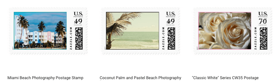 Use Your Artwork to Design Postage Stamps on Zazzle