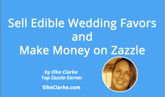 Sell Edible Wedding Favors and Make Money on Zazzle