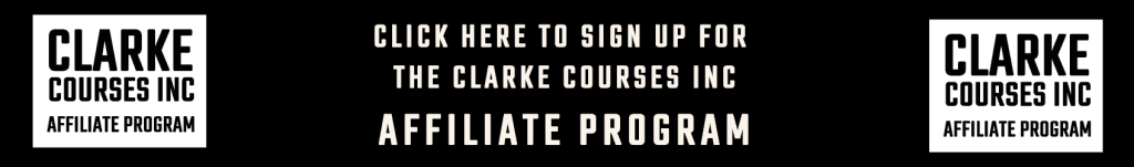 Click here to apply to enroll in the Clarke Courses Inc Affiliate Program to start earning money online today.