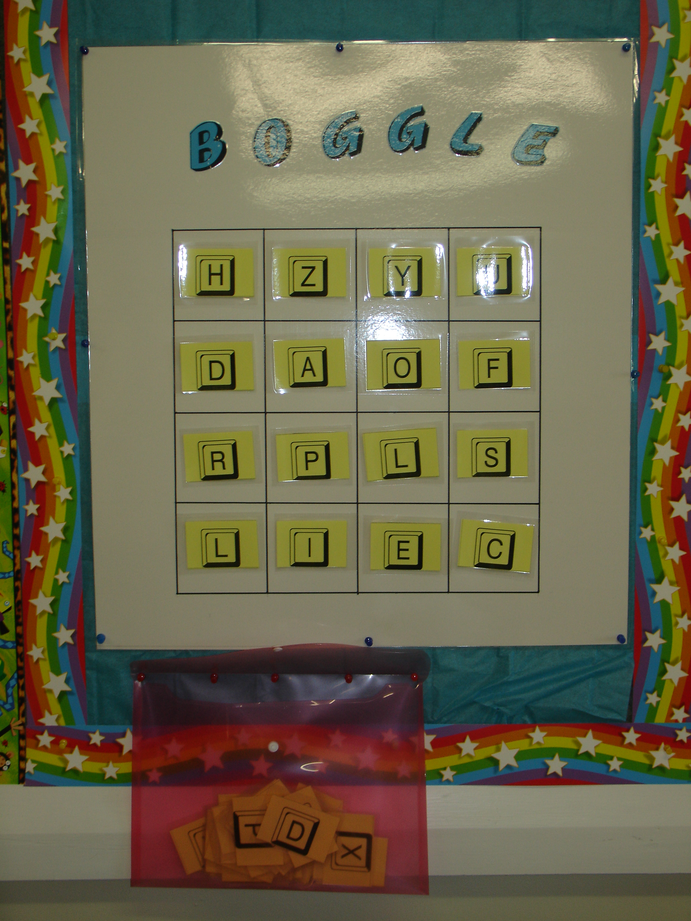 Interactive Bulletin Board Ideas