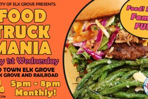 Food Truck Mania in Old Town Elk Grove