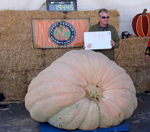 1944.5-Pound Pumpkin Takes Top Prize at Weigh-Off