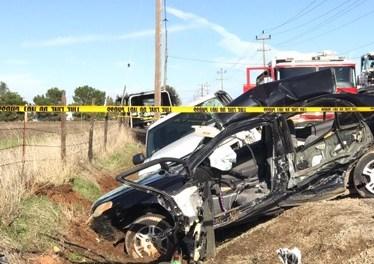 Fatal Car Crash on Grantline Road