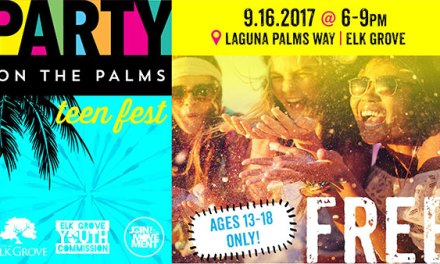 Party On The Palms For Teens September 16th At Elk Grove City Hall