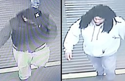 Video surveillance image of the suspects  Photography Credit: Elk Grove Police Department