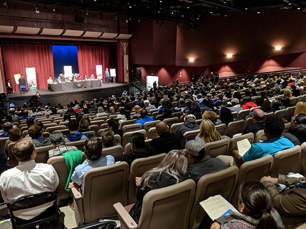 """""""I Stand With Rachael"""" & Demands For Change Echoed In Elk Grove Unified School District Community Forum"""