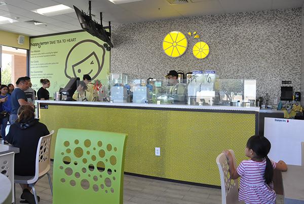 Happy Lemon interior