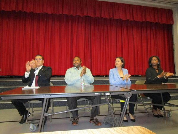 Elk Grove Residents Meet Local Political Candidates At Neighborhood Forum