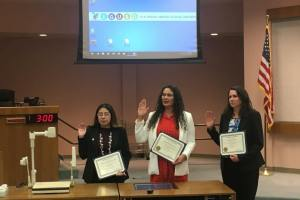 Singh-Allen, Martinez-Alire, and Albiani Sworn Into Elk Grove Unified School District Board