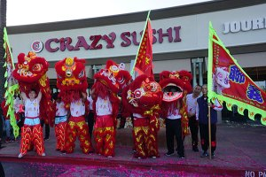 Lion Dance Dancers from Young Lion