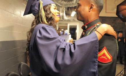 High School Graduate Kali Honeywood Surprised By Marine Brother On Stage