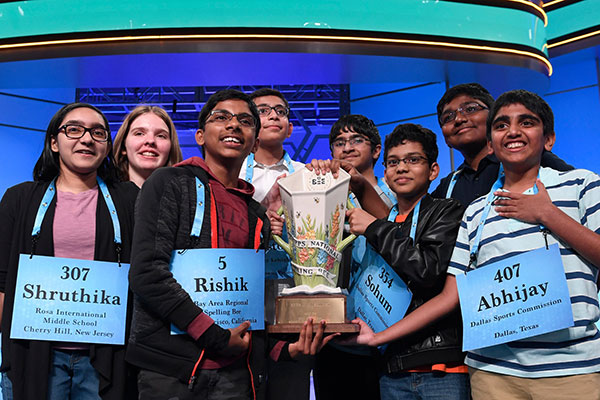 Scripps National Spelling Bee 2019 Ends In An Unprecented 8-Way Tie!!