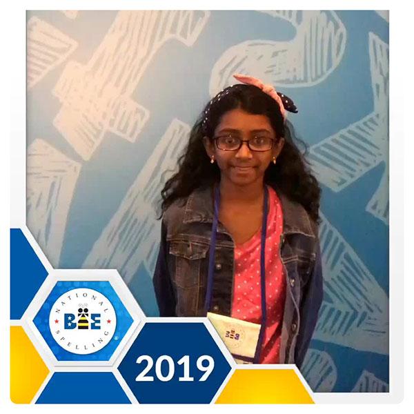 Congrats To Nithika Rangan, Elk Grove's Own Spelling Bee Whiz