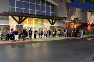 Elk Grove Unified students and their parents are ready for the shopping spree!
