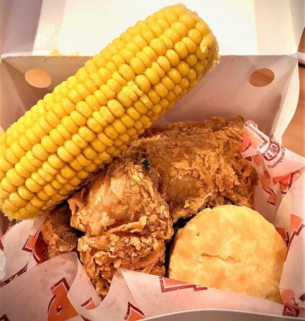 Popeye's 4-Piece Chicken Meal/Roshá Hester