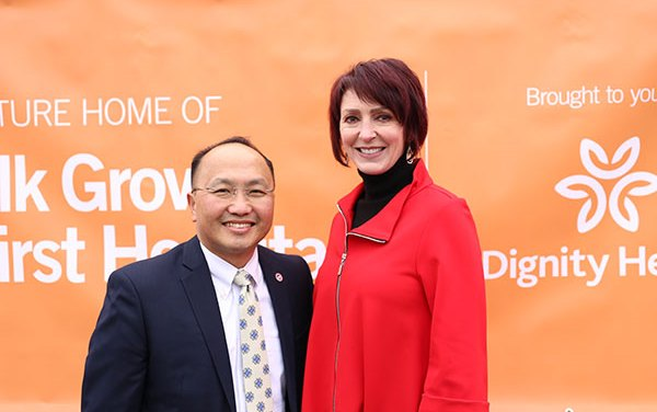 Dignity Health Unveils New Elk Grove Hospital To Be Built