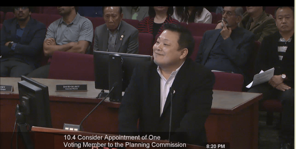 Tony Lin Steps In As Planning Commissioner As Kevin Spease Eyes Elk Grove City Council Seat