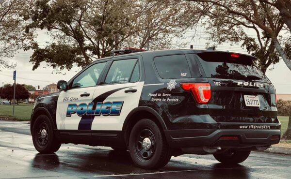 Elk Grove Police Patrol Vehicle Struck In Collision