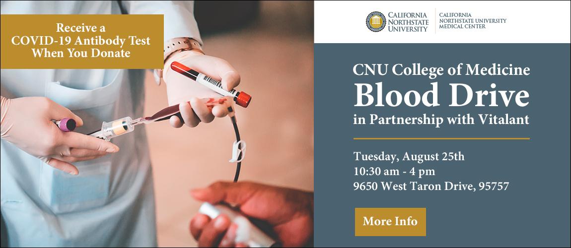 CNU College of Medicine BLOOD DRIVE