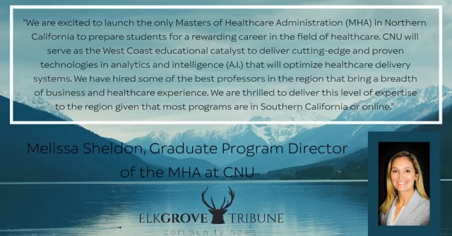 California Northstate University Launches New Master's Degree Program in Healthcare Administration