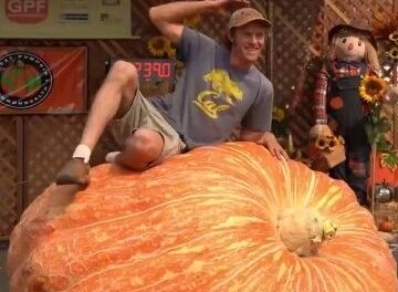 Giant Pumpkin Winner Boasts A Whopping 2,089 Pound Gourd