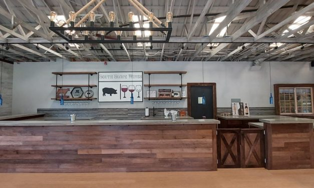 South Slope Wines Relocates To Old Sheldon Farmhouse