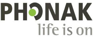 Phonak logo: life is on