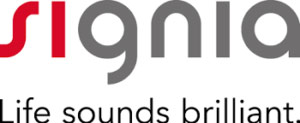 Signia logo: Life sounds brilliant.