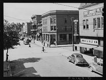 Elkins, West Virginia. Photo by John Vachon, from the Library of Congress.