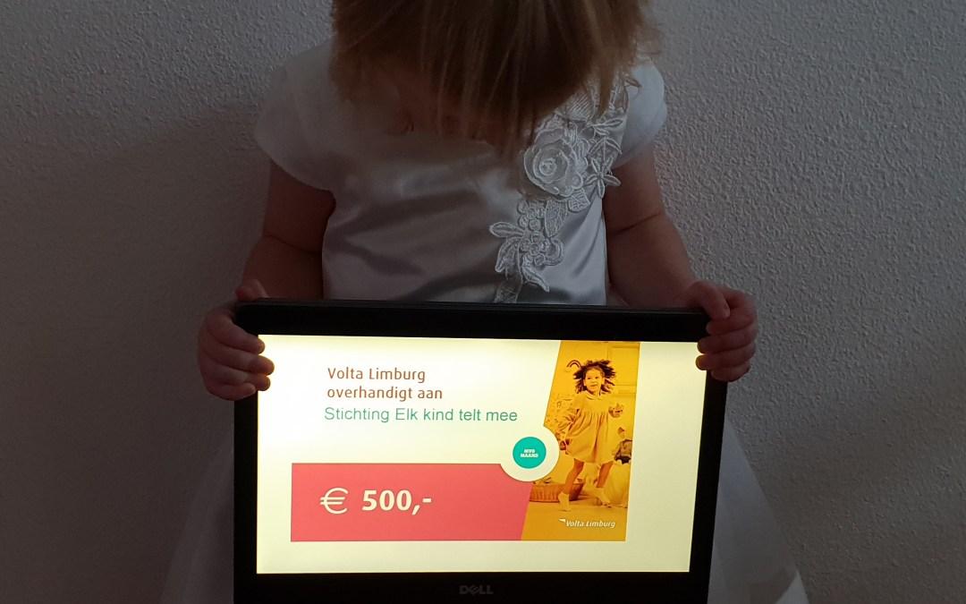 Volta Limburg verrast ons met een donatie!