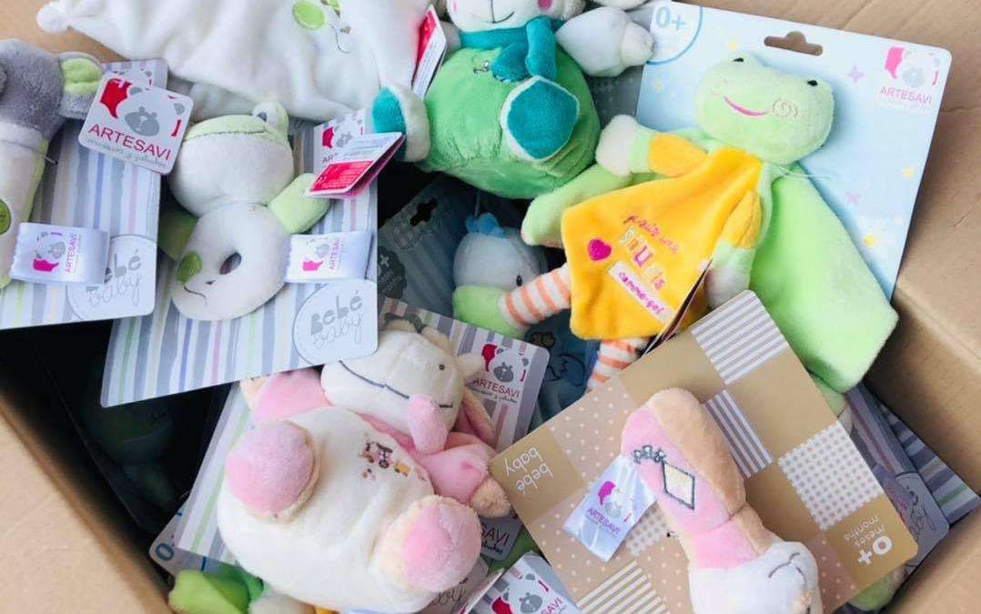 Doos vol babyspeelgoed!