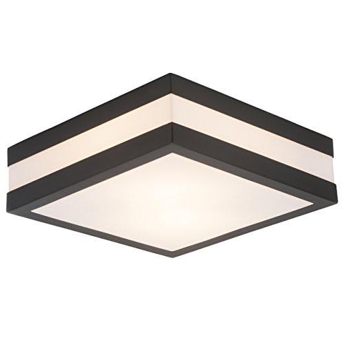LED Deckenleuchte BadLampe AussenLeuchte PROVANCE E27 230V IP44 ohne Leuchtmittel LED Lampe