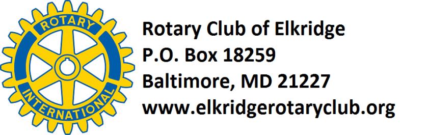 Rotary Logo Label